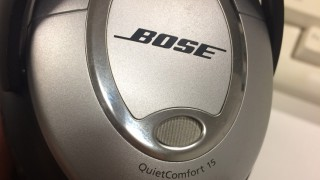 Bose QuietComfort15 のイヤーパッド交換